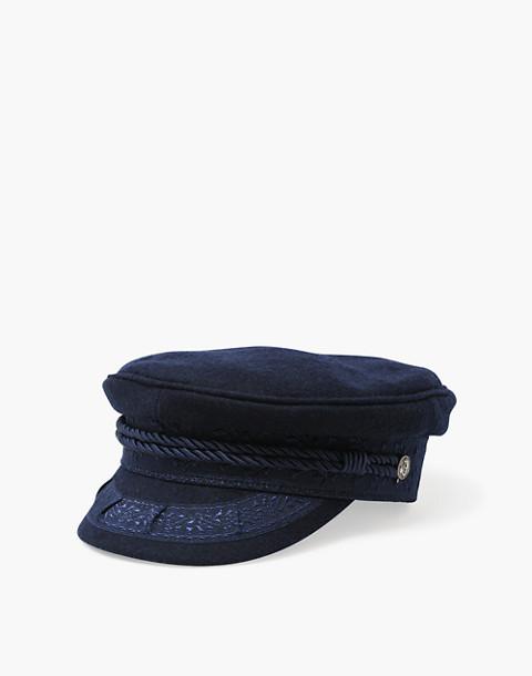 WYETH™ Addie Captain's Hat in navy image 2