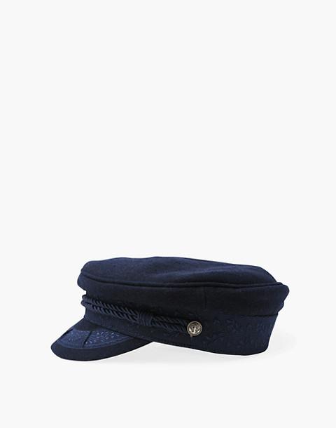 WYETH™ Addie Captain's Hat in navy image 3