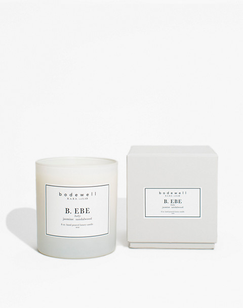 Bodewell Home B.EBE Candle in one color image 2