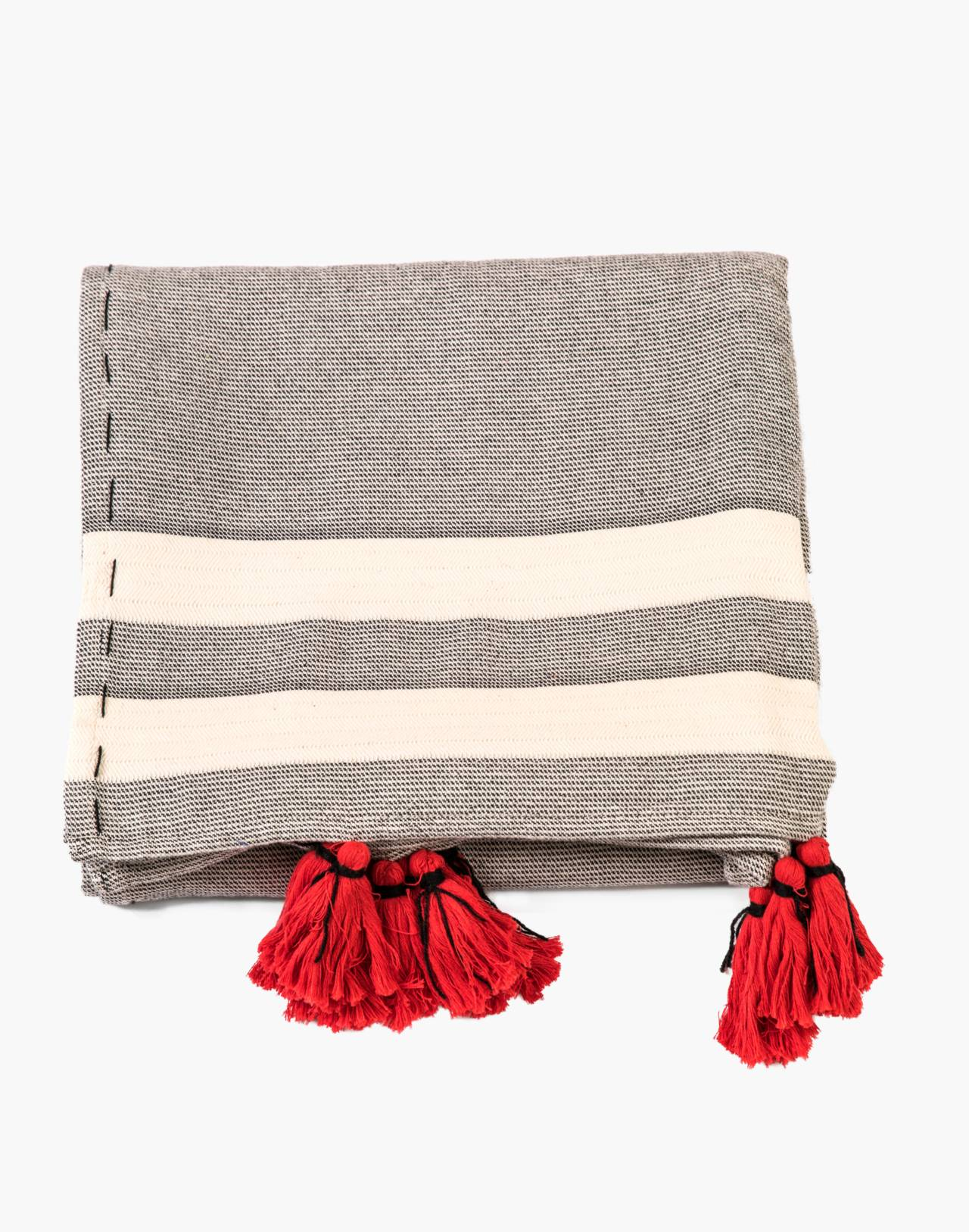 HOUSE NO. 23™ Osman Throw Blanket in grey image 1