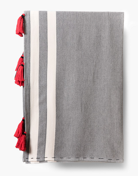 HOUSE NO. 23™ Osman Throw Blanket in grey image 3