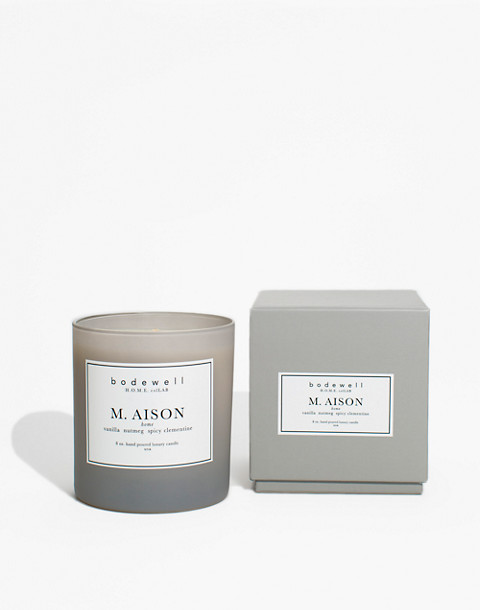 Bodewell Home M.AISON Candle in one color image 2