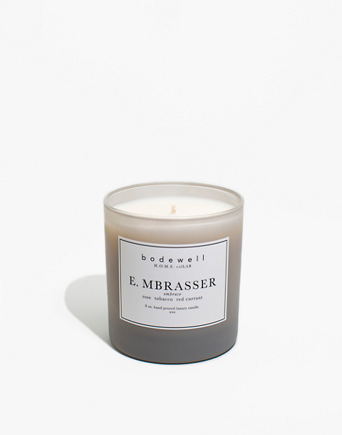 Bodewell Home E.MBRASSER Candle in one color image 1