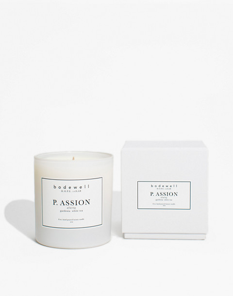 Bodewell Home P.ASSION Candle in one color image 2