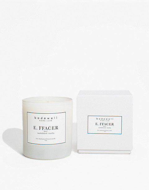 Bodewell Home E.FFACER Candle in one color image 2