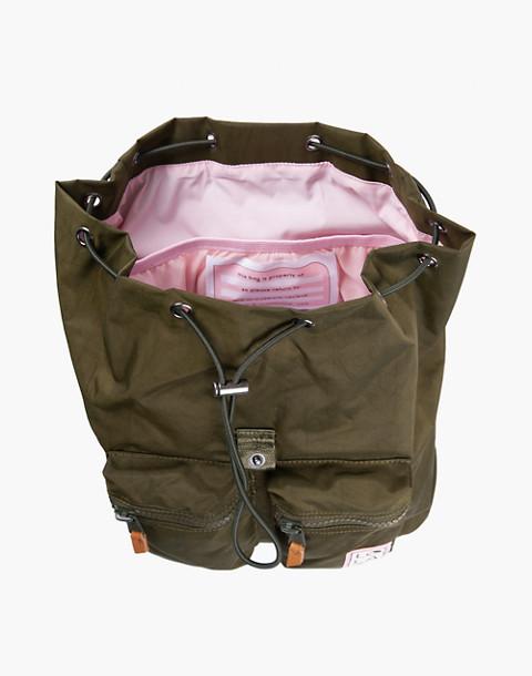 LOLA™ Mondo Phantasm Large Drawstring Backpack in dark green image 2