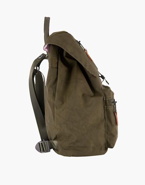 LOLA™ Mondo Phantasm Large Drawstring Backpack in dark green image 3