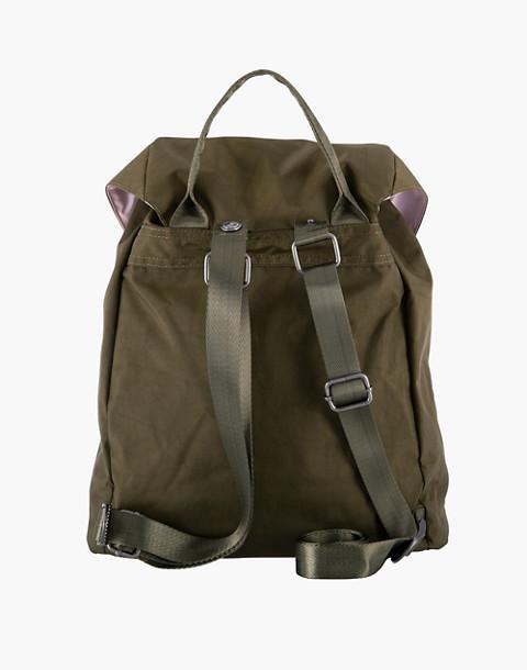 LOLA™ Mondo Phantasm Large Drawstring Backpack in dark green image 4