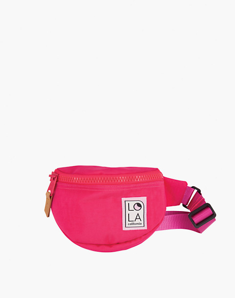 LOLA™ Mondo Moonbeam Bum Bag in pink image 1