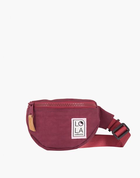 LOLA™ Mondo Moonbeam Bum Bag in dark red image 1