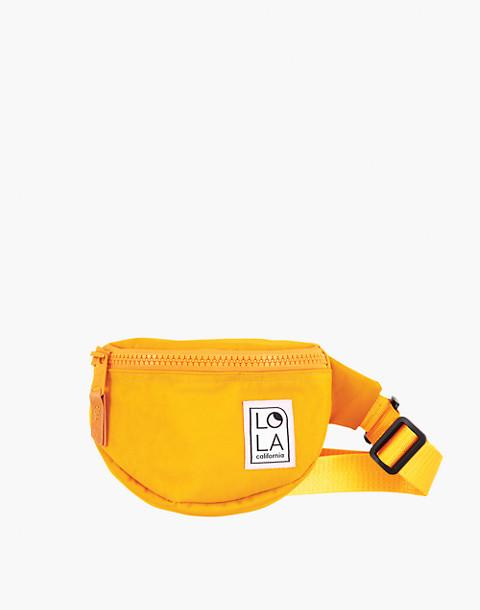 LOLA™ Mondo Moonbeam Bum Bag in yellow image 1