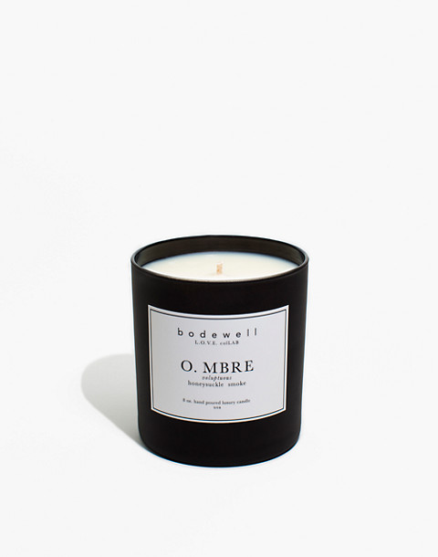 Bodewell Home O.MBRE Candle in one color image 1