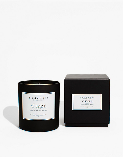 Bodewell Home V.IVRE Candle in one color image 2