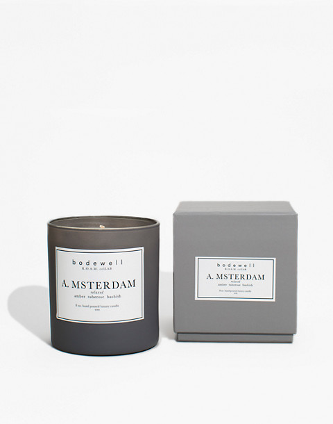 Bodewell Home A.MSTERDAM Candle in one color image 1