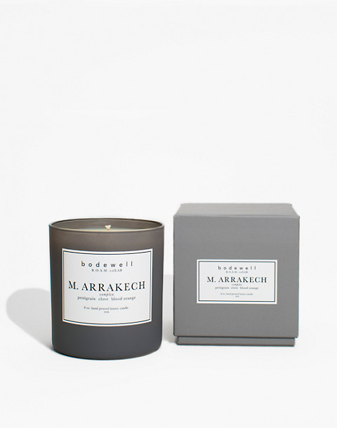 Bodewell Home M.ARRAKECH Candle in one color image 2