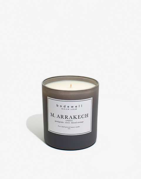 Bodewell Home M.ARRAKECH Candle in one color image 1