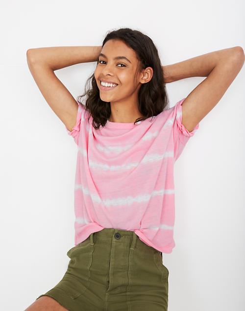 Rivet & Thread Oversized Tie Dyed Tee by Madewell