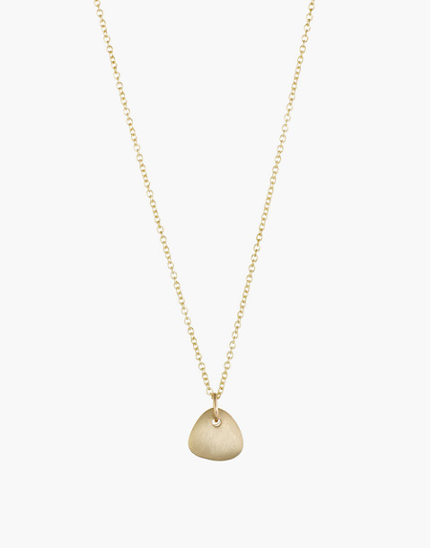Dream Collective™ 14k Gold Small Ingot Pendant Necklace in gold image 1