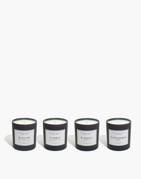 Bodewell Home H.E.R.O. Candle Set in one color image 1