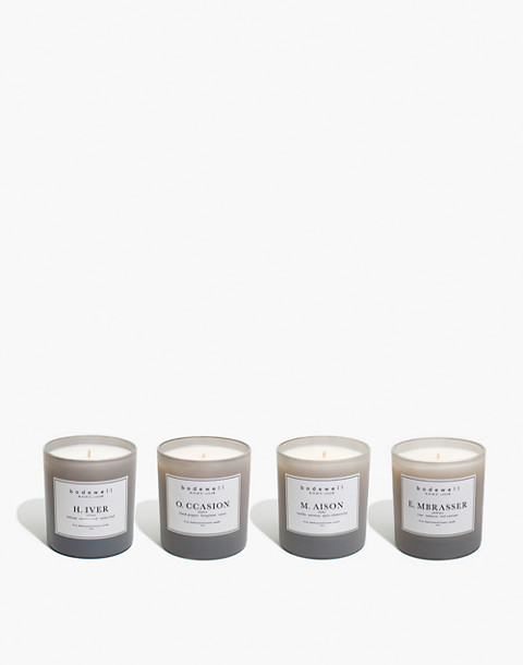 Bodewell Home H.O.M.E. Candle Set in one color image 1