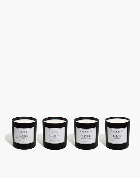Bodewell Home L.O.V.E. Candle Set in one color image 1