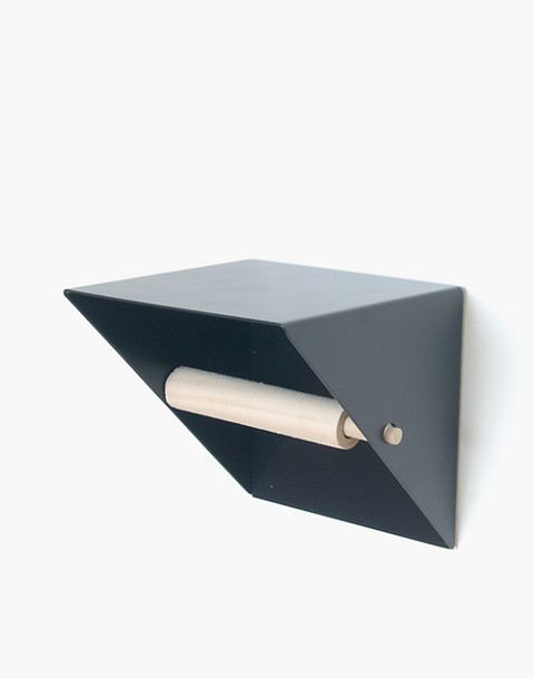 NEWMADE LA Toilet Paper Holder in black image 1