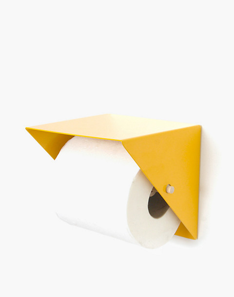 NEWMADE LA Toilet Paper Holder in yellow image 1