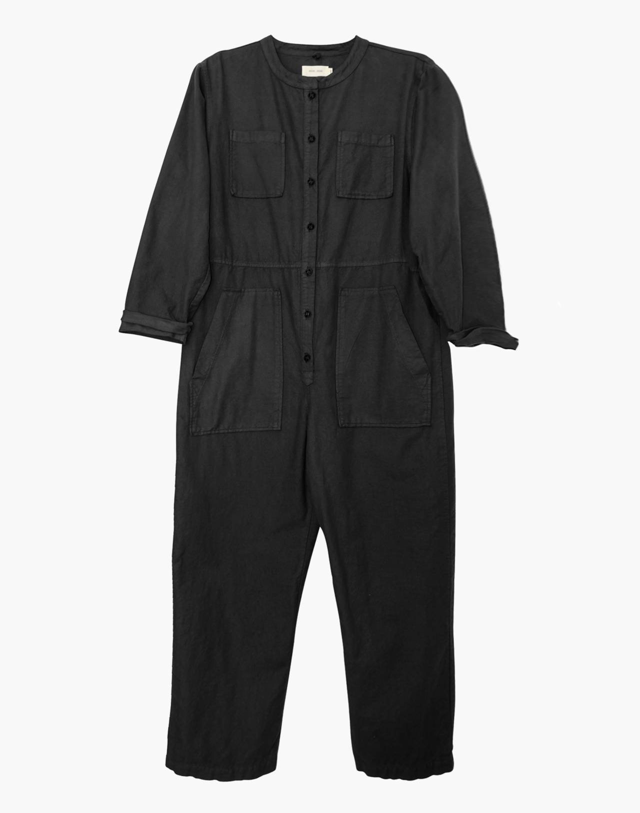 NICO NICO™ Chapman Flannel Jumpsuit in black image 1