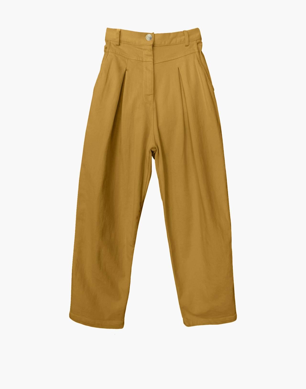 NICO NICO™ Jet Pleated Jeans in yellow image 1