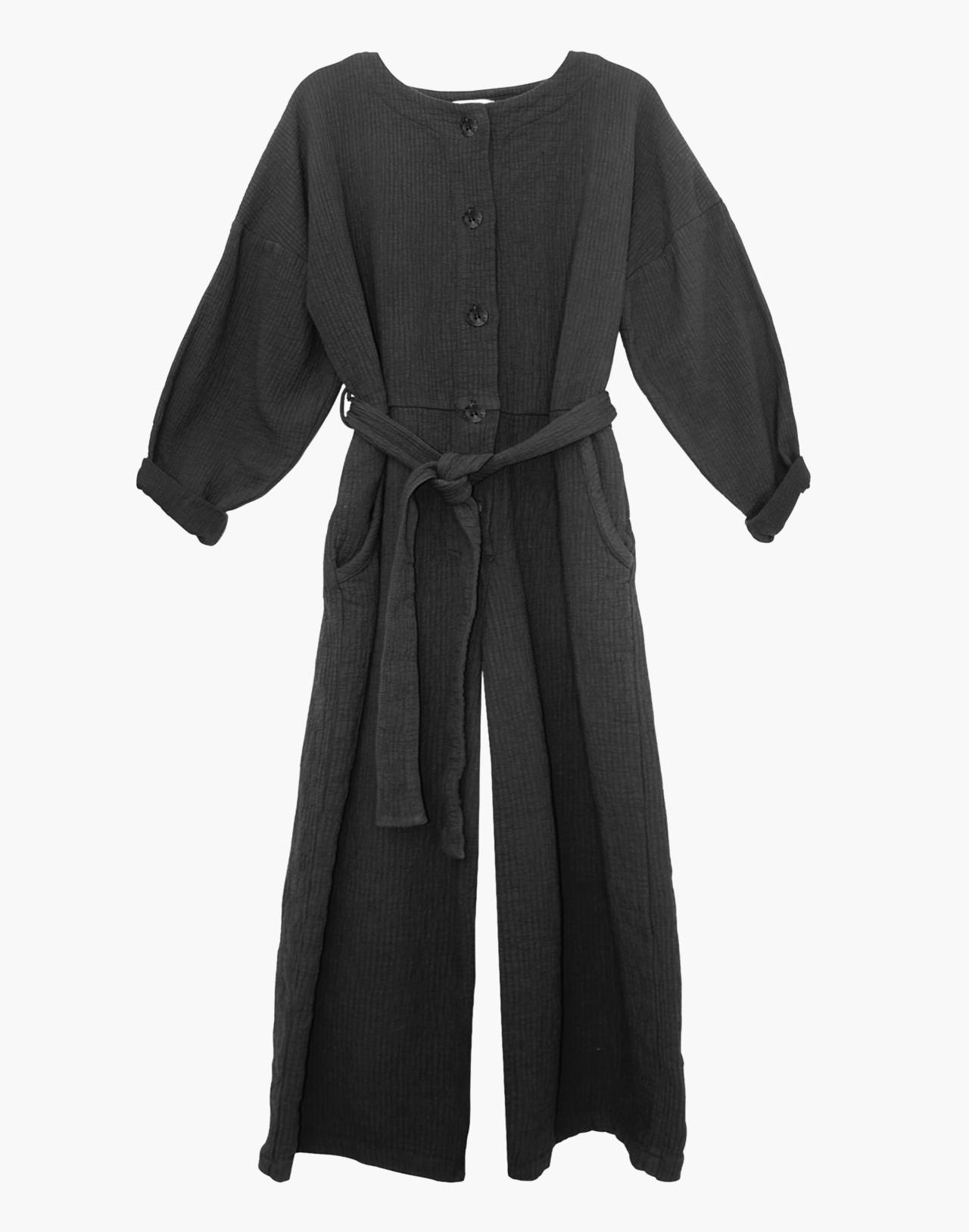 NICO NICO™ Johnson Quilted Jumpsuit in black image 1