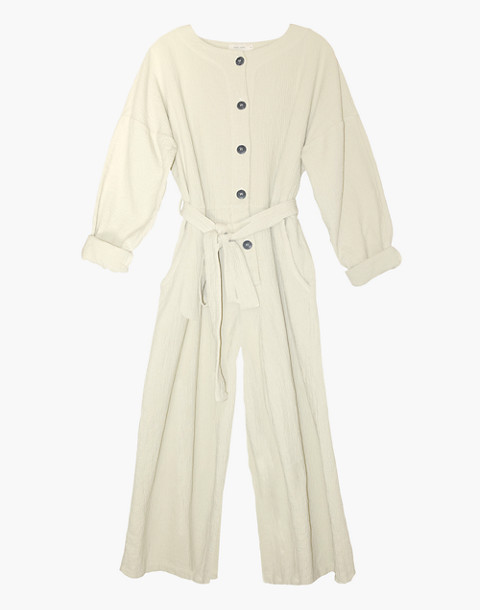 NICO NICO™ Johnson Quilted Jumpsuit in ivory white image 1