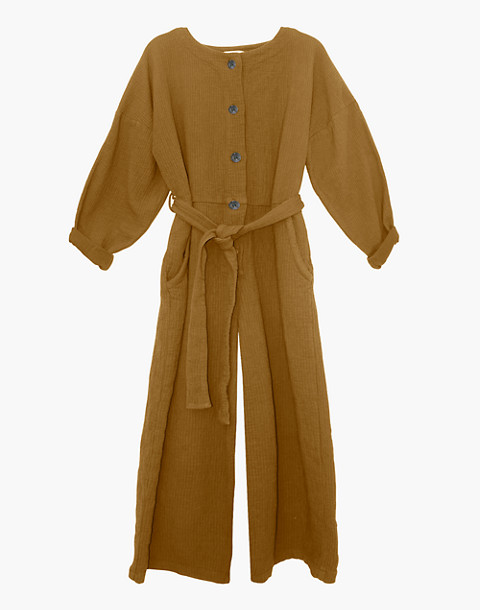 NICO NICO™ Johnson Quilted Jumpsuit in yellow image 1