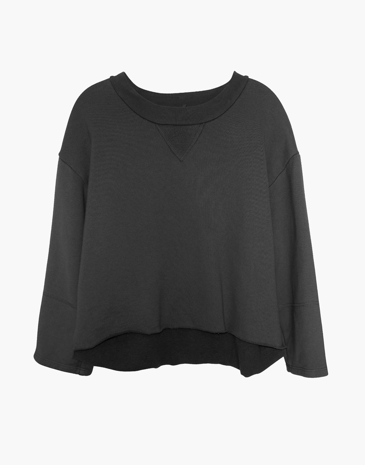 NICO NICO™ Morgan Fleece Pullover Sweatshirt in black image 1