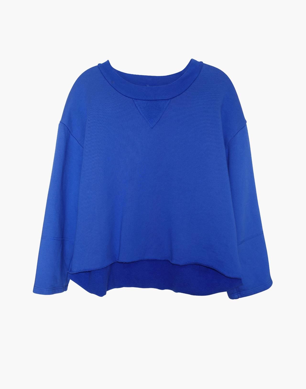 NICO NICO™ Morgan Fleece Pullover Sweatshirt in blue image 1