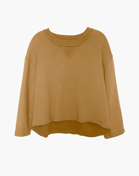 NICO NICO™ Morgan Fleece Pullover Sweatshirt in yellow image 1