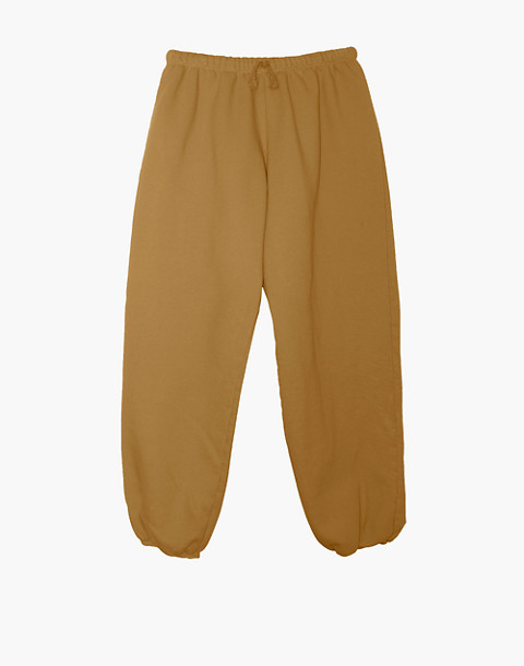 NICO NICO™ Simon Fleece Sweatpants in yellow image 1