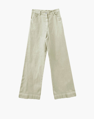 NICO NICO™ Solar Twill High-Waisted Jeans in ivory white image 1