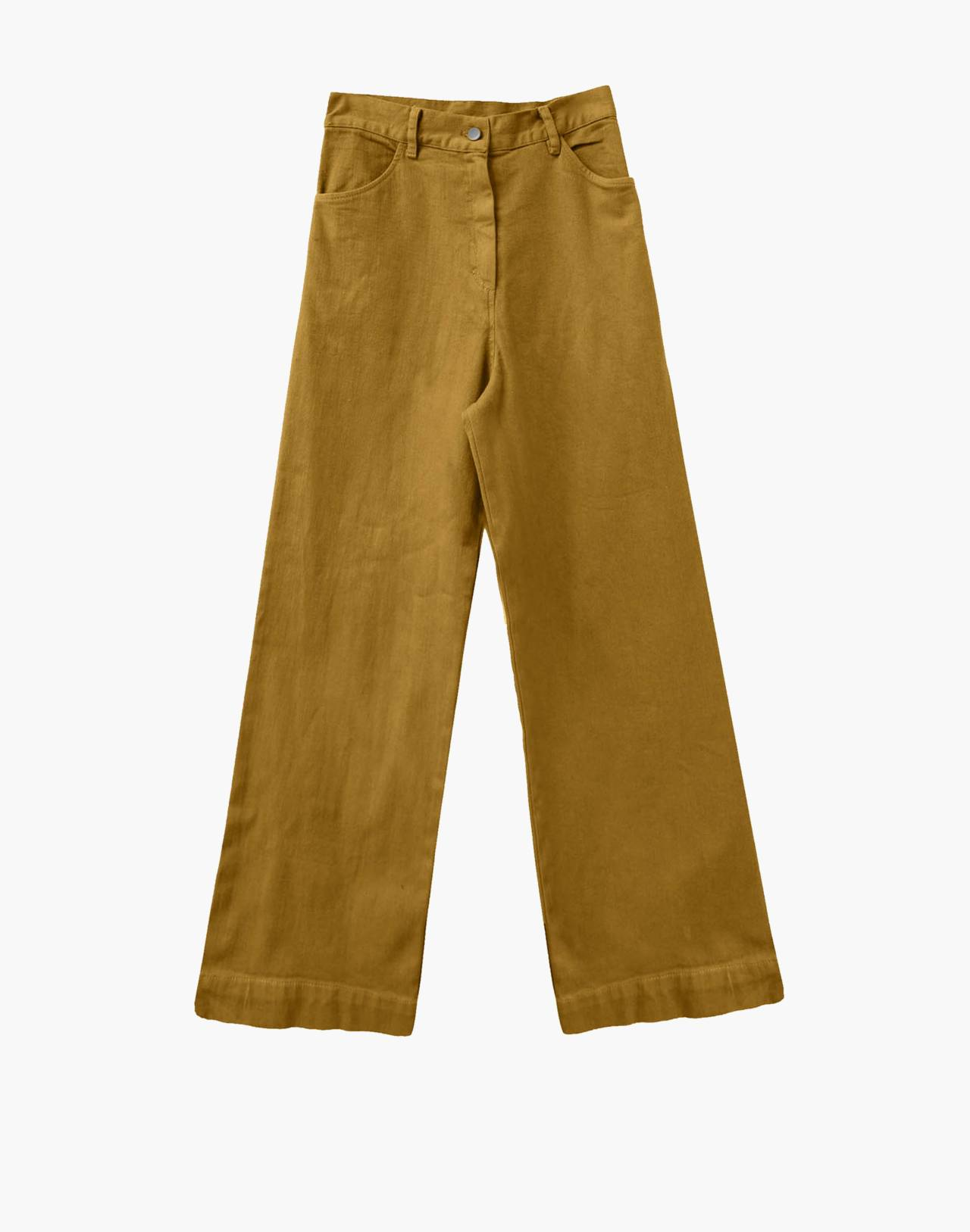 NICO NICO™ Solar Twill High-Waisted Jeans in yellow image 1