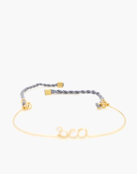 Atelier Paulin™ Sea Corded Bracelet in gold image 2