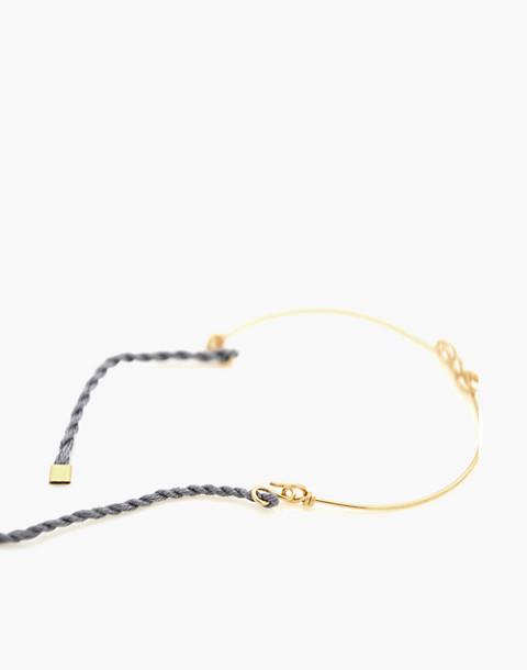 Atelier Paulin™ Sea Corded Bracelet in gold image 3