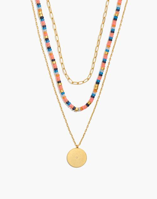 Festivity Necklace Set by Madewell