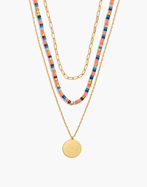festivity-necklace-set by madewell