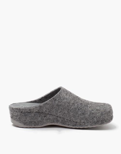 1d1e3b5b Shepherd of Sweden® Felted Wool Gitte Slippers in grey ...