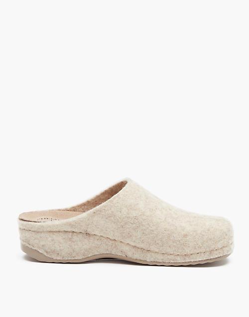 f115feb4 Shepherd of Sweden® Felted Wool Gitte Slippers in white ...