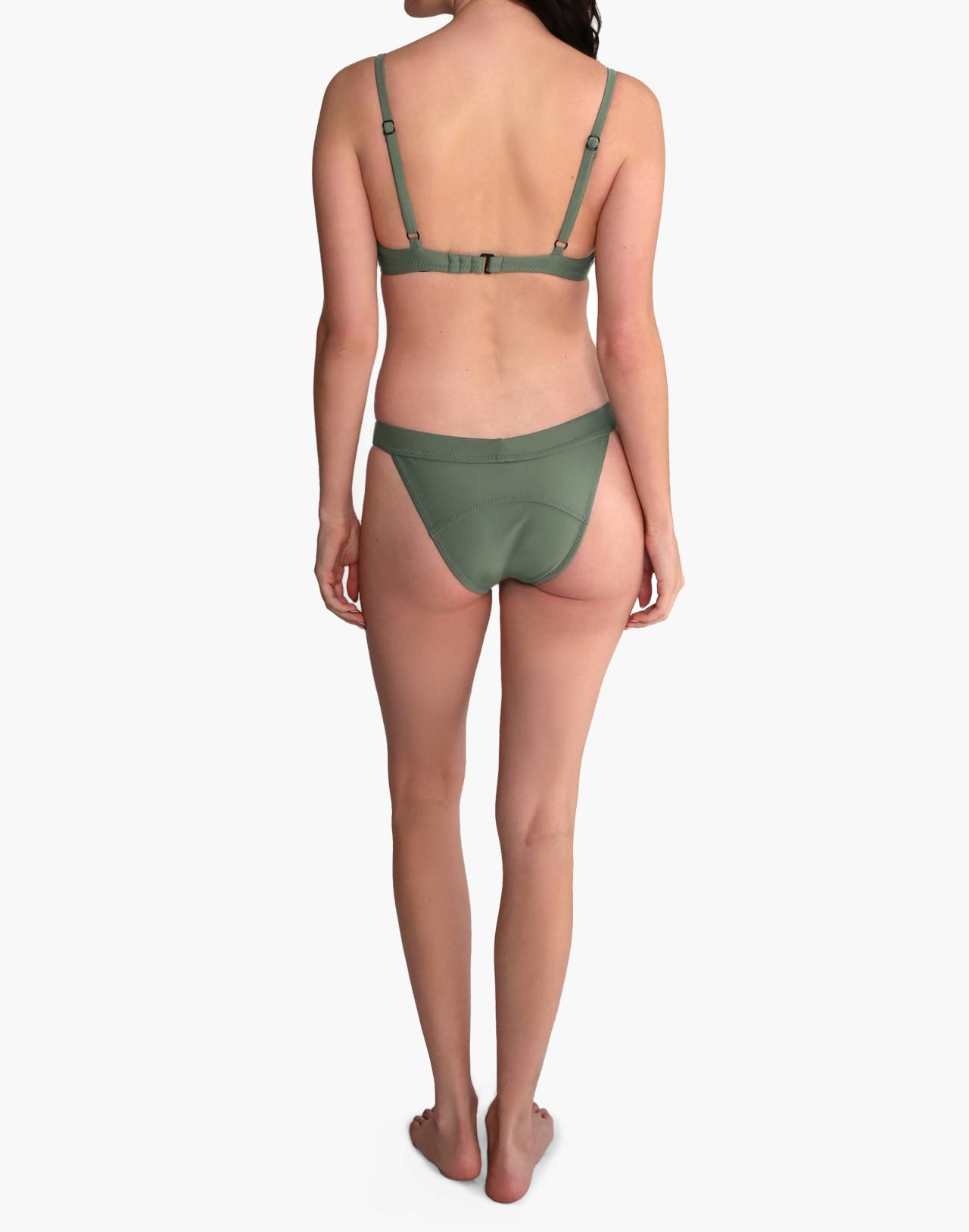 GALAMAAR® Band Brief Bikini Bottom in green image 2