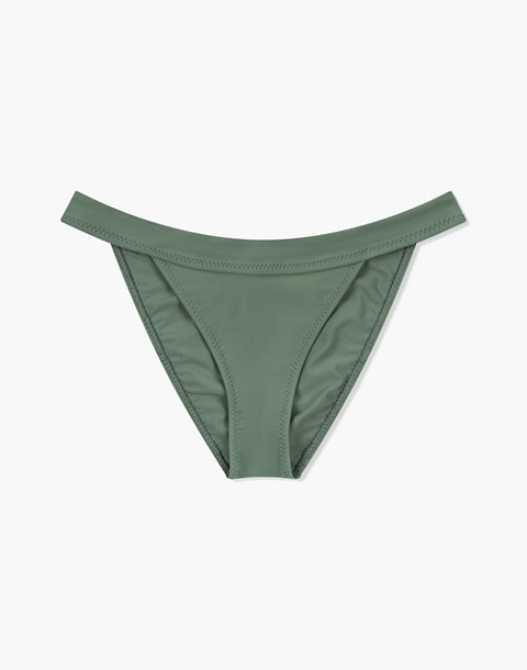GALAMAAR® Band Brief Bikini Bottom in green image 3