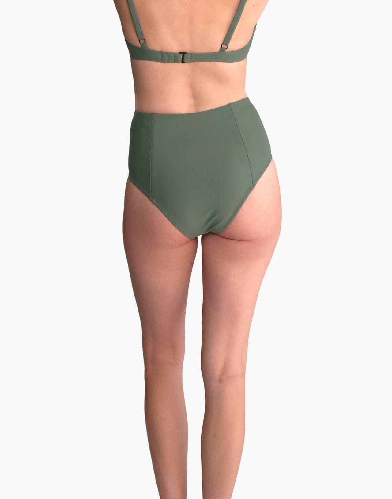 GALAMAAR® High Bikini Bottom in green image 3