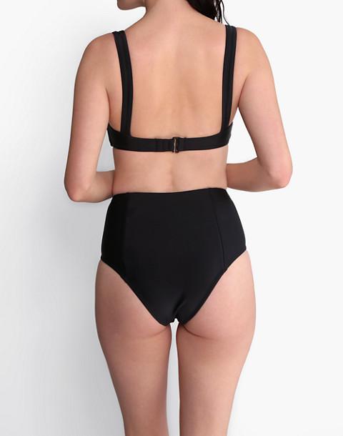 GALAMAAR® Lou Bandeau Bikini Top in black image 4
