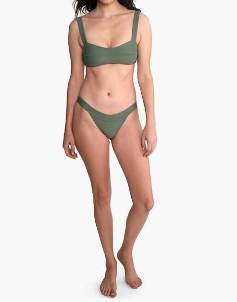 GALAMAAR® Lou Bandeau Bikini Top in green image 1
