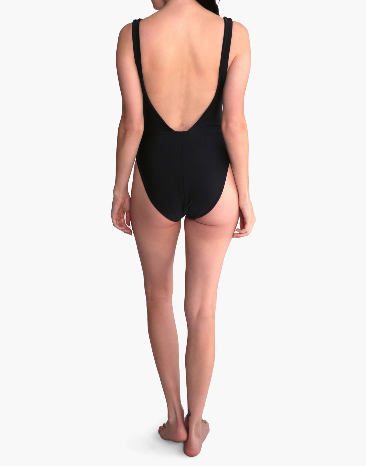GALAMAAR® Roe Maillot One-Piece Swimsuit in black image 3